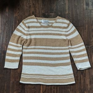 Jssica Striped Knit Top